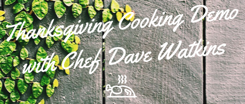 Talking Turkey with Chef Dave
