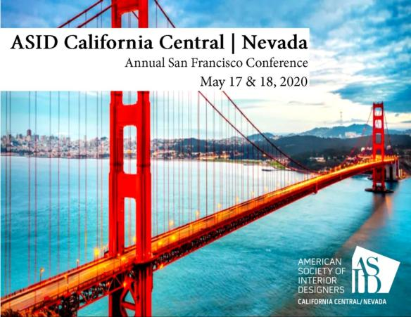 POSTPONED - Annual ASID California Central / Nevada Chapter Conference