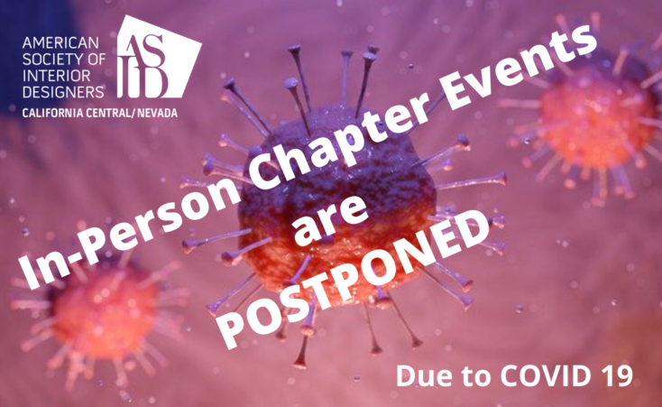 All In-Person Chapter Events have been postponed