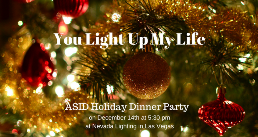 ASID Holiday Dinner Party in Las Vegas